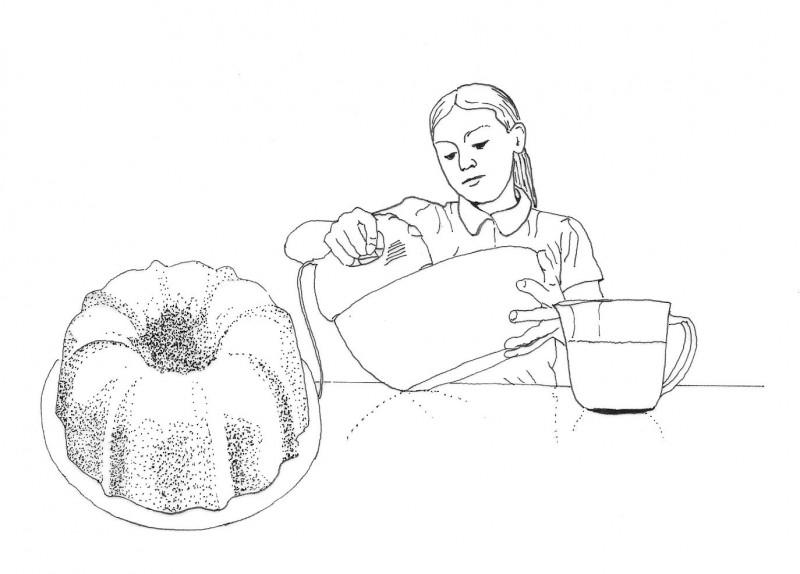 Making Pound Cake